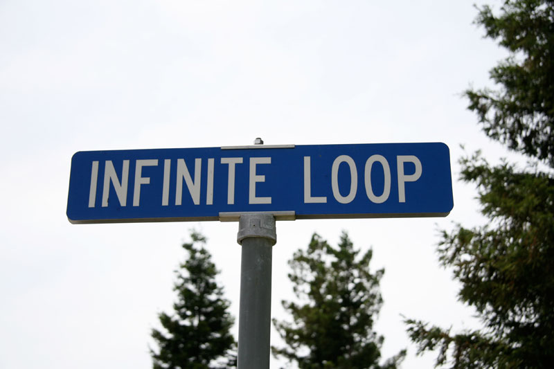 The infinite loop and the smart infinite loop