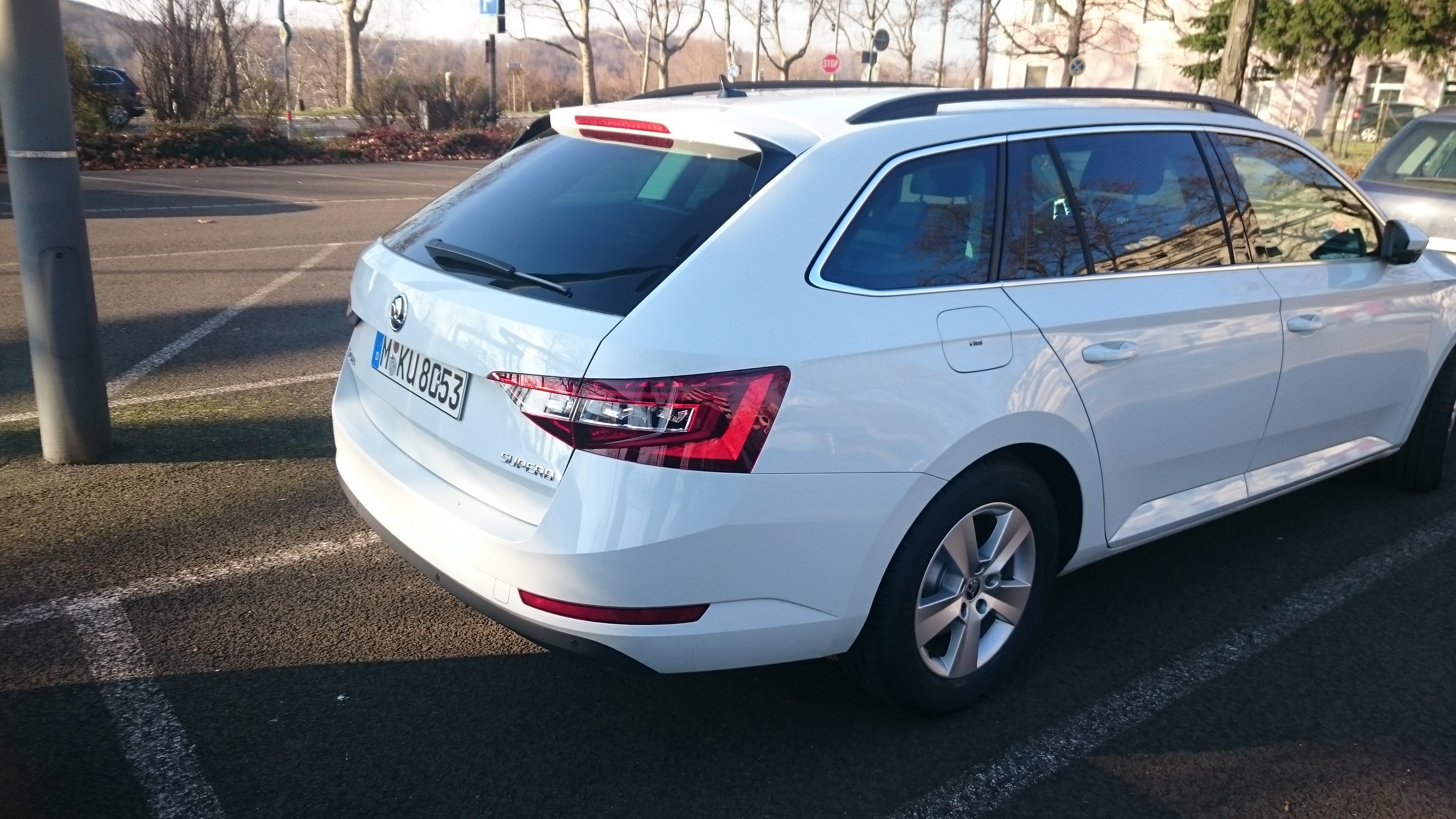 Skoda Superb break. Model 2015