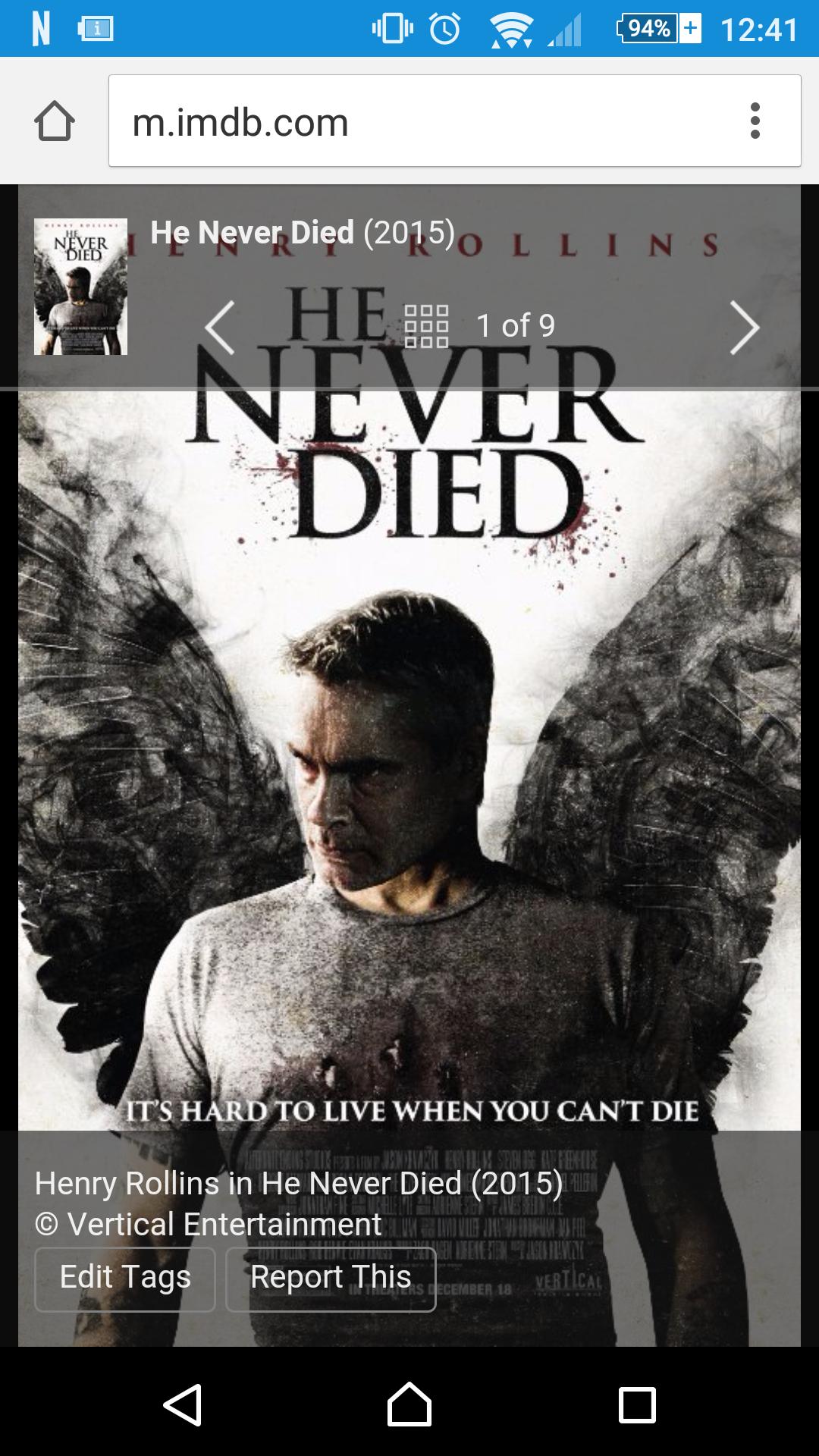 Netflix: He never died