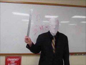 faceless teacher