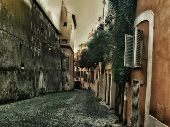 În Roma.