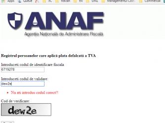 Update cu ANAF si cu bani