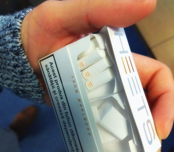 M-am prins ce e cu țigările ăstea noi