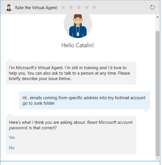 Inteligenta Artificiala de tip Microsoft