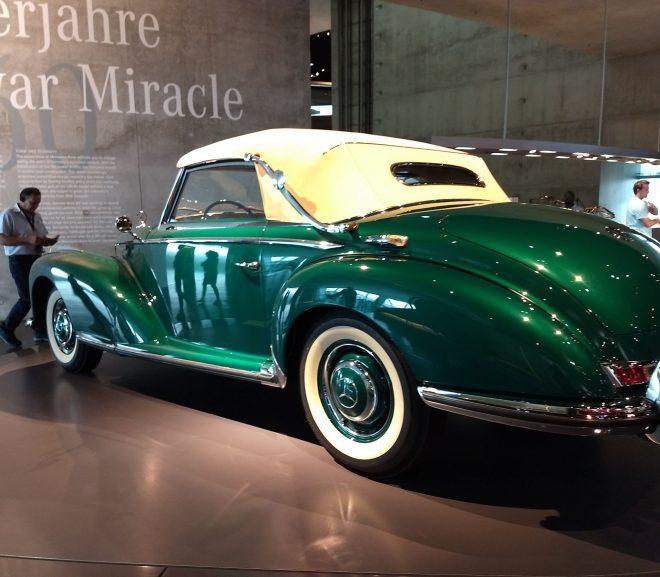 Stuttgart bonus: Muzeul Mercedes