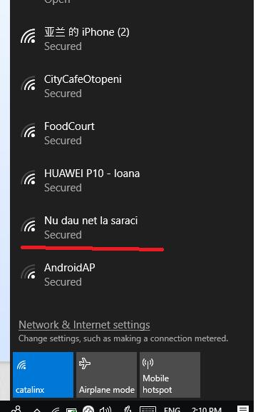 Scurt: WiFi Otopeni