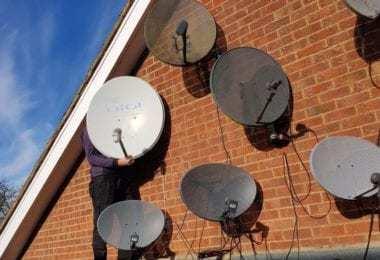 Antenar modern