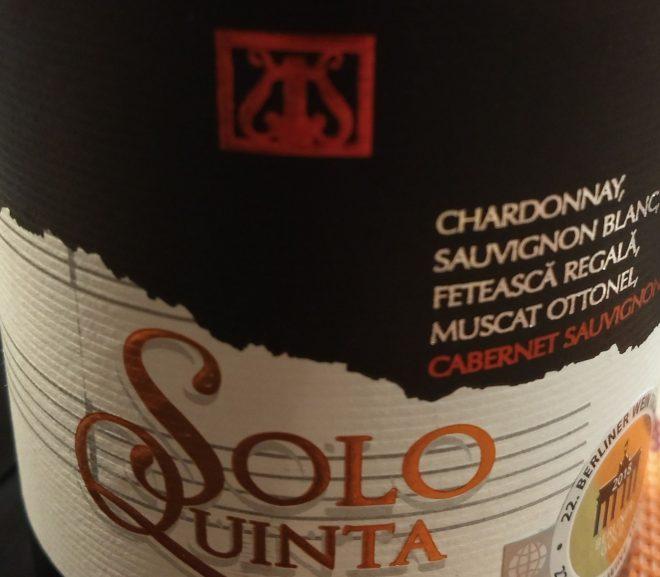 Scurt: Vin – Solo Quinta alb 2017