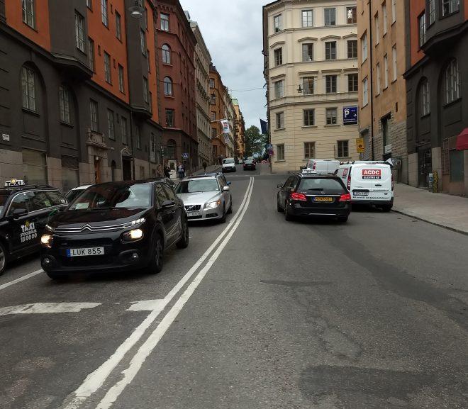 Suedia: Un pic cu transport în comună