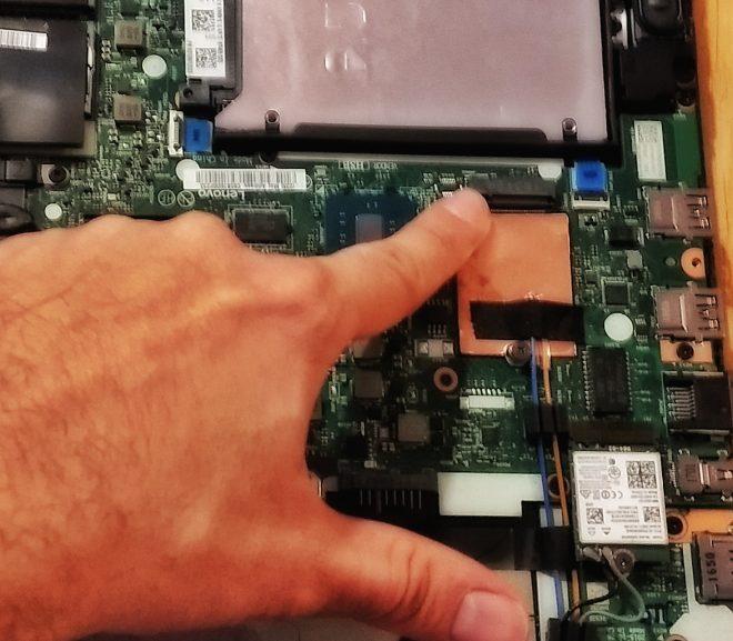 Al doilea SSD (m.2 2242) pe Thinkpad T460p