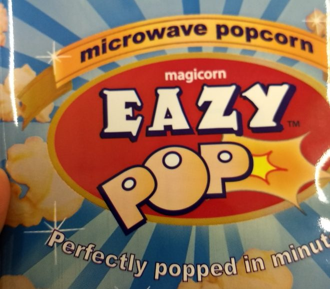 Popcorn bun. Eazy Pop