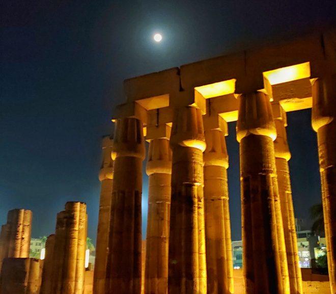 Egipt. 17. Templul din Luxor