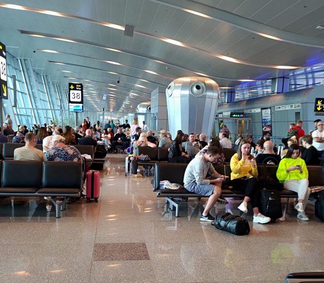 Egipt. 21. Aeroportul din Hurghada
