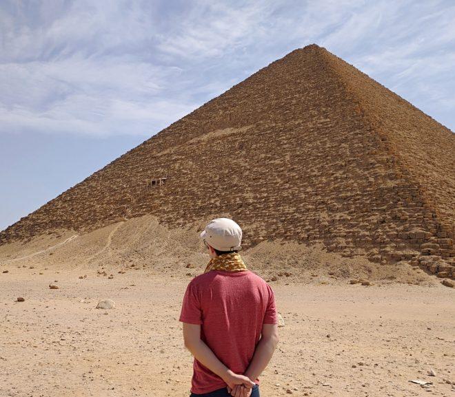 4. Egipt. 3 piramide la Dashur