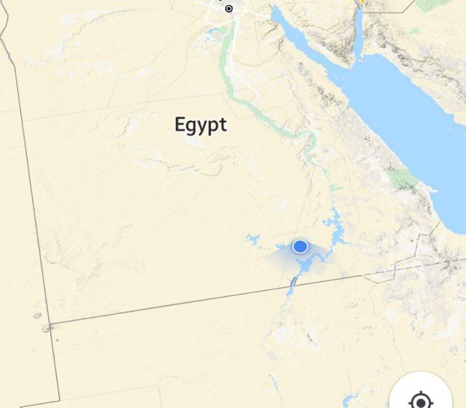 Egipt.9. Prin deșert. Ultrascurt