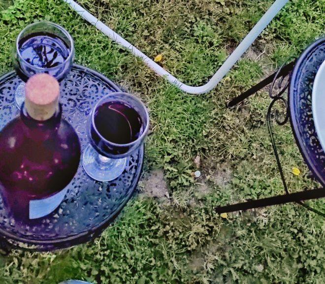 Precipitații acute și un vin interesant de Purcari