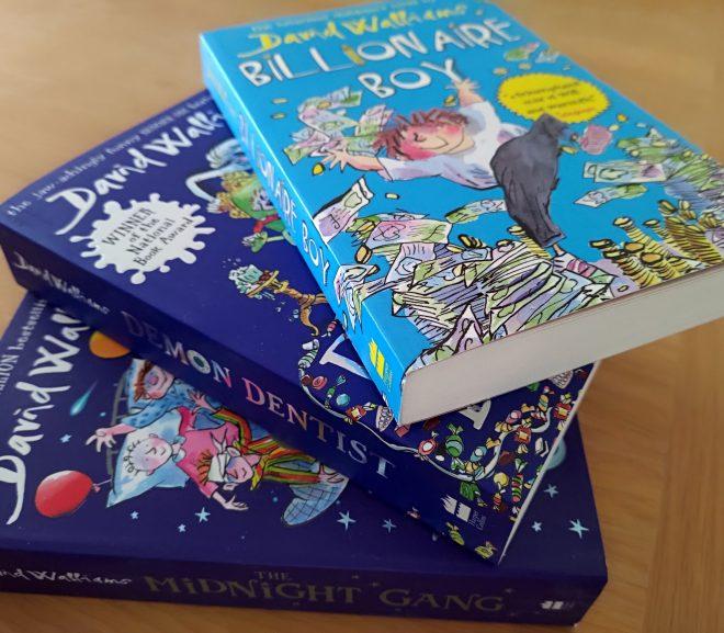 Cărți pentru copii: David Walliams