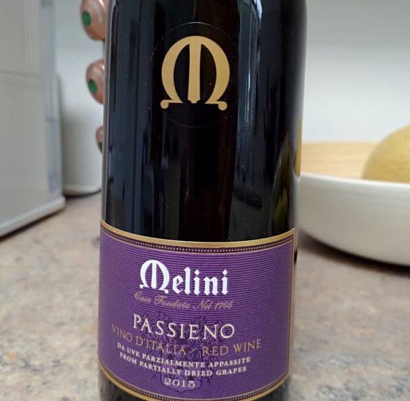 Vin italian: Melini Passieno