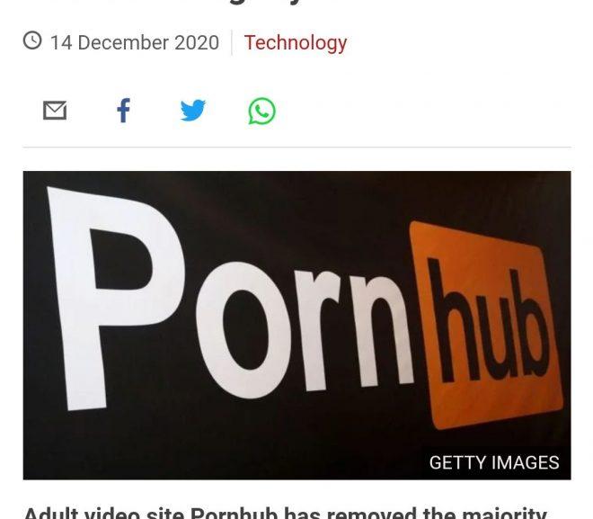 Pornhub – cancelling culture și puterea de cenzură a celor mari