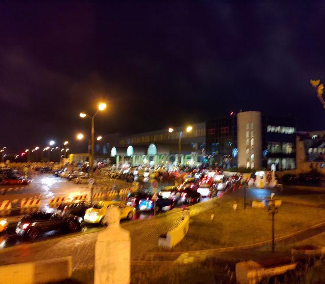 Aeroportul plin ochi