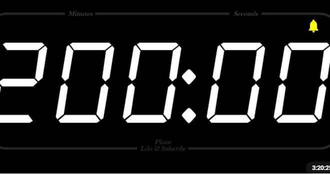 200 de minute